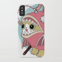 Aqua cat_Muka iPhone Case