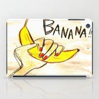 banana iPad Cases featuring BANANA!! by Asano Kitamura