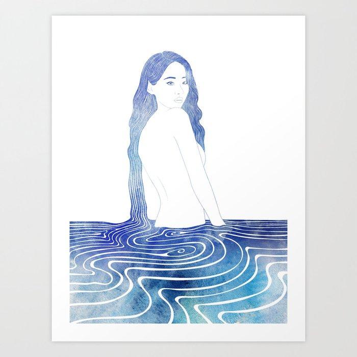 Dexamene Art Print
