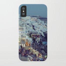 Fira at Dusk II iPhone Case