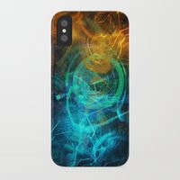 holographic iPhone & iPod Cases featuring Holographic Chaos by noistromo