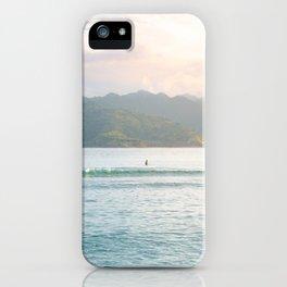 Gili T Island Sunset iPhone Case