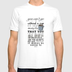 One Direction: Little Things SMALL White Mens Fitted Tee