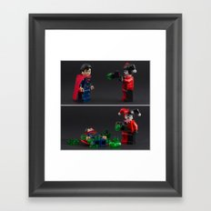 Anything can be a weapon Framed Art Print