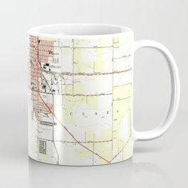 Vintage Map of Oxnard California (1949) 2 Coffee Mug