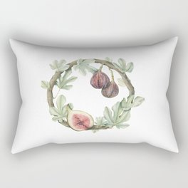 Fig Wreath Rectangular Pillow