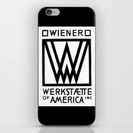 Wiener Werkstaette of America iPhone Skin