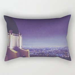 Observing the City Rectangular Pillow