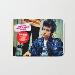 Vintage Bob Dylan Highway '61 Revisited Poster Bath Mat