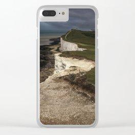 White cliffs of Beachy Head Clear iPhone Case