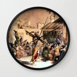 Jules Laurens - Dragomans a Teheran Wall Clock