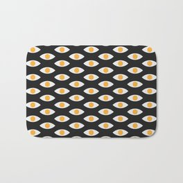eye pattern Bath Mat