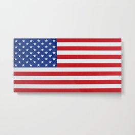 American Flag 001 Metal Print