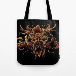 Autumn Man Tote Bag