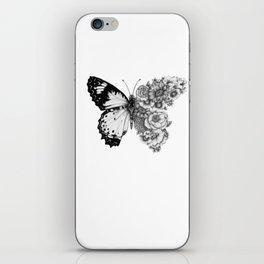 Butterfly in Bloom iPhone Skin