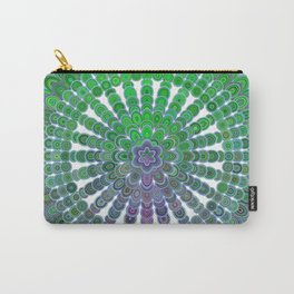 Spring Mandala Wheel Carry-All Pouch