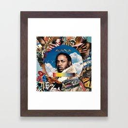 Mortal Man Framed Art Print