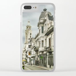 Montevideo Historic Center Cityscape Clear iPhone Case