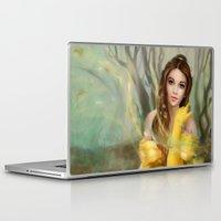 belle Laptop & iPad Skins featuring Belle by MartaDeWinter