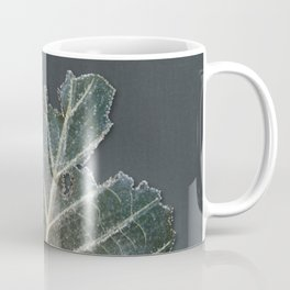 Faling galaxies – grey background Coffee Mug