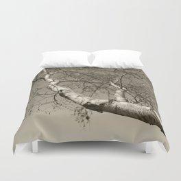 Birch tree #01 Duvet Cover