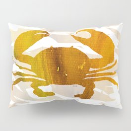 Colorful Art Crab Abstract Pillow Sham