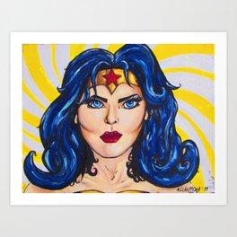""""""" Oh , Woman you make me Wonder"""" Art Print"""