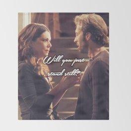Luke and Lorelai - Stand Still Throw Blanket