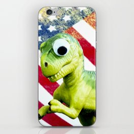 Tiny Diny USA iPhone Skin