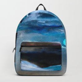 Blue Scape Backpack