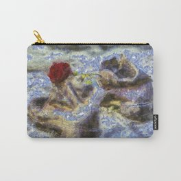 Shoes On The Danube Bank Van Gogh Carry-All Pouch