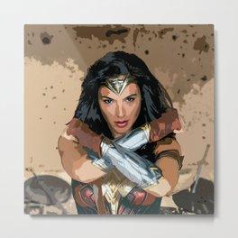 Diana Prince 4 Metal Print