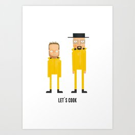 let's cook Art Print