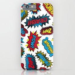 Super Words! iPhone Case