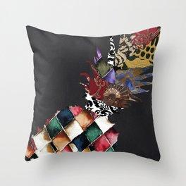 Pineapple Brocade II Throw Pillow