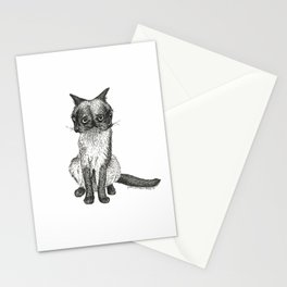 Siamese Siamese Stationery Cards