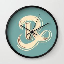 R Wall Clock