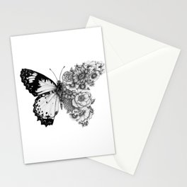 Butterfly in Bloom Stationery Cards