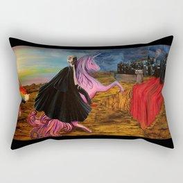 World War Web Rectangular Pillow