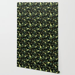 Australian Native Floral Pattern - Beautiful Grevillea Wallpaper