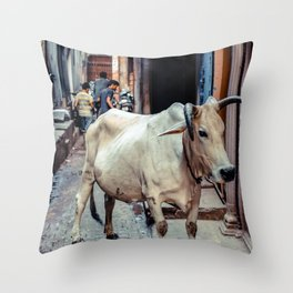 Holy Cow... Throw Pillow