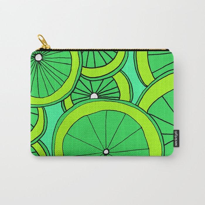 Summer Limes Citrus Art Carry-All Pouch