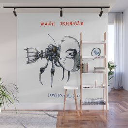 idiotfish (wally schnalle edition) Wall Mural
