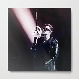 U2 / Bono 4 Metal Print
