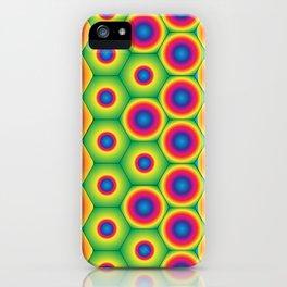 Rainbow Hexagon iPhone Case
