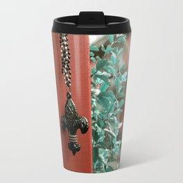 The Fleur- de- Lis Travel Mug