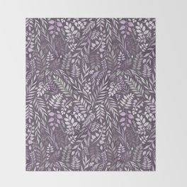 Lavender (Essential Oil Collection) Throw Blanket