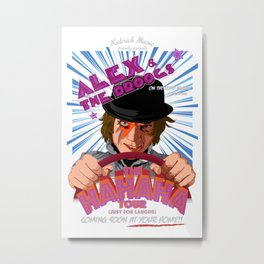 Alex and the Droogs Metal Print