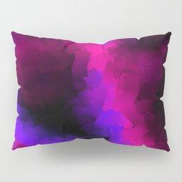 digital watercolor with black Pillow Sham