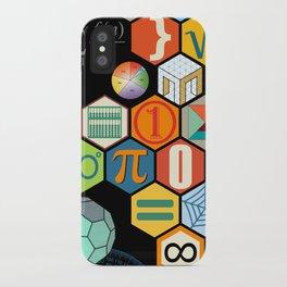 Math in color Black B iPhone Case
